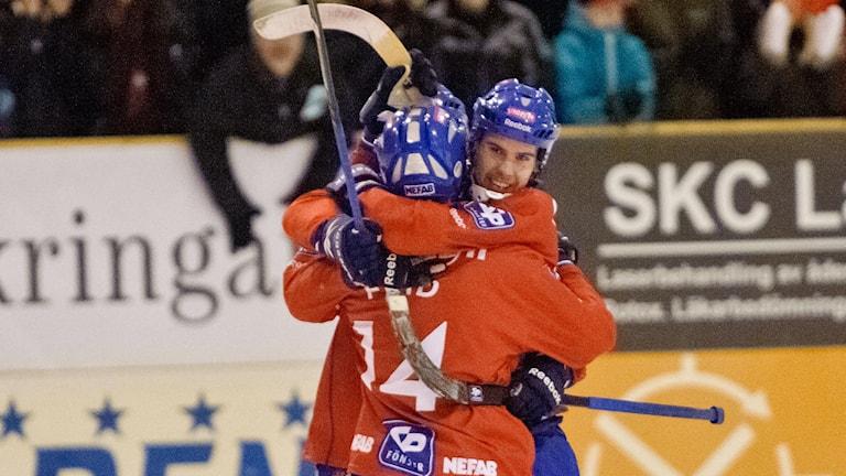 Mattias Hammarström och Martin Frid