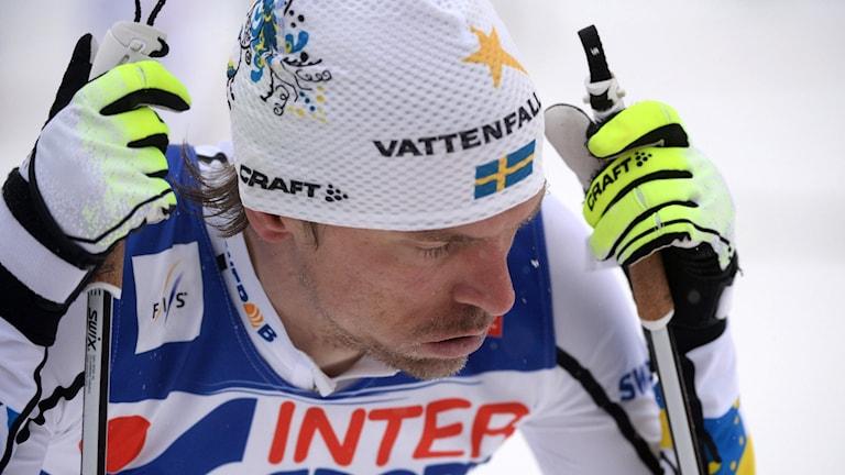 Johan Olsson har haft stora problem med sjukdomar under säsongen.