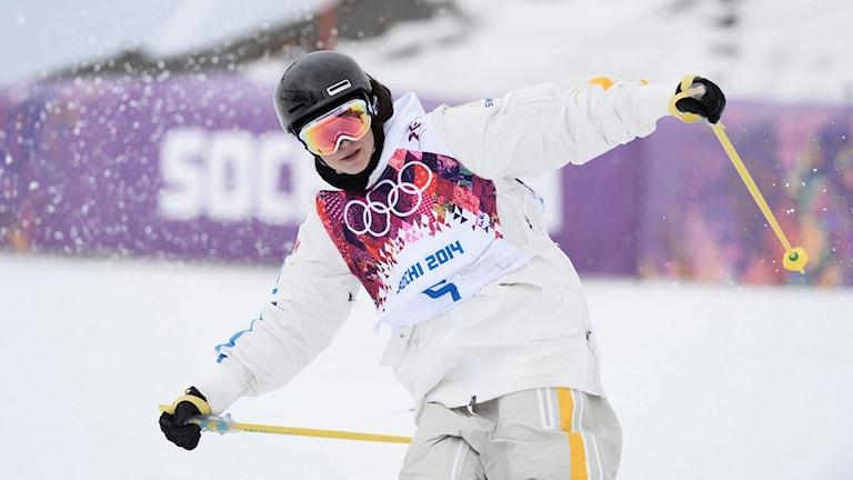 Emma Dahlström under OS i Sotji.