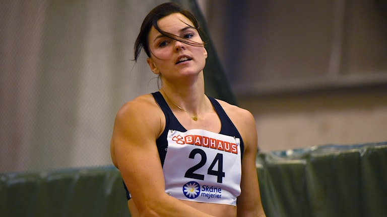 Susanna Kallur under inomhus-SM 2016