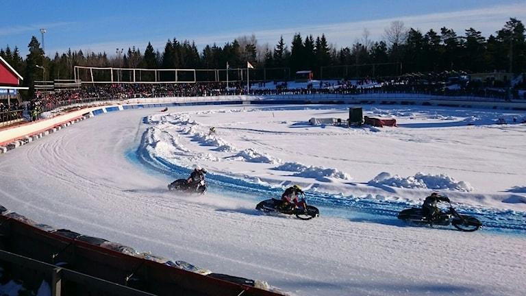SM-finalen i isracing i Hallstavik.