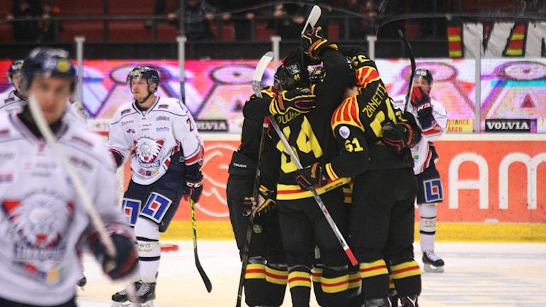 Brynäs jublar mot Linköping