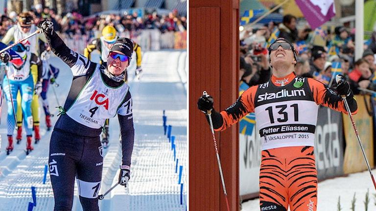 Britta Johansson Norgren och Petter Eliassen.