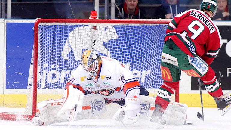 Frölunda besegrade Växjö med 3-1.