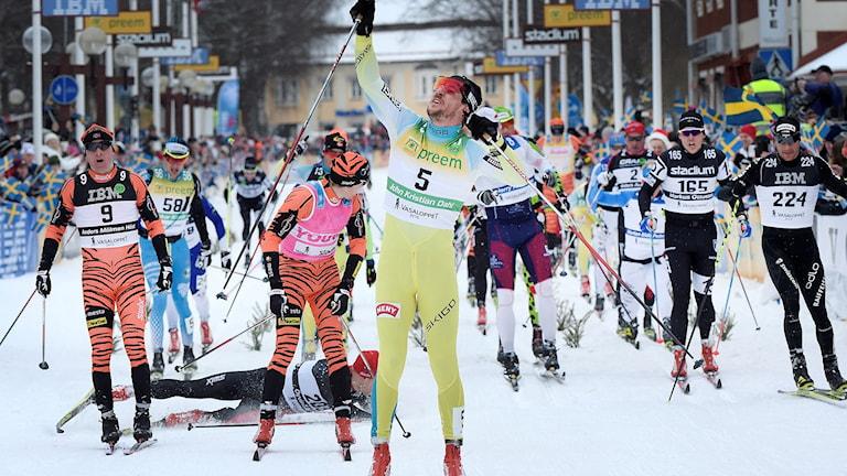 John Kristian Dahl vinner Vasaloppet för andra gången.