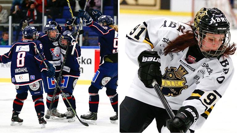 Linköping och AIK tog sig vidare till semifinal.