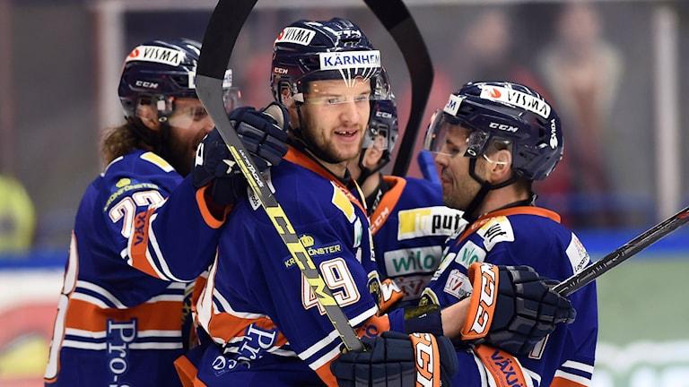 Växjö besegrade Luleå.
