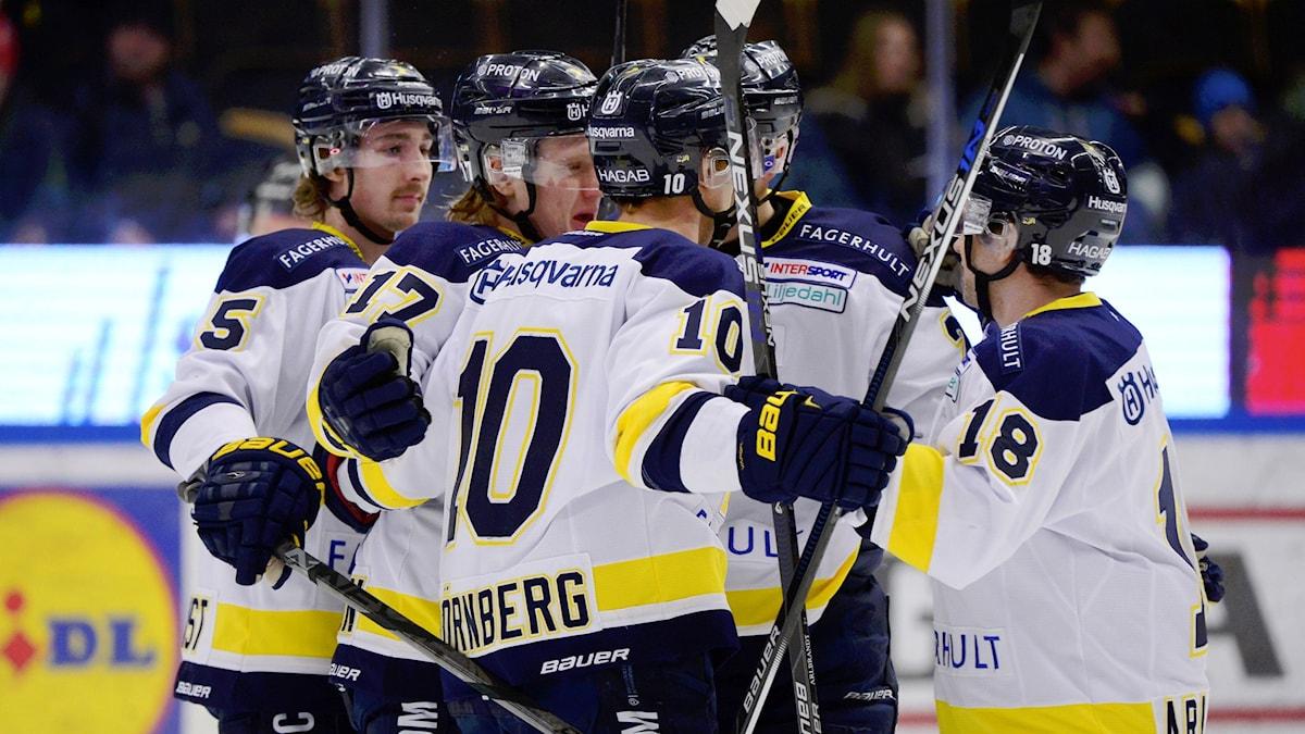 HV71 besegrade Skellefteå.