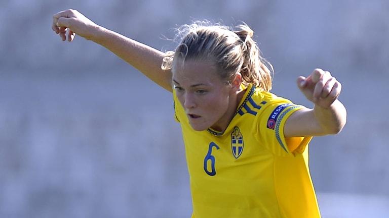 Magdalena Eriksson. Foto: TT