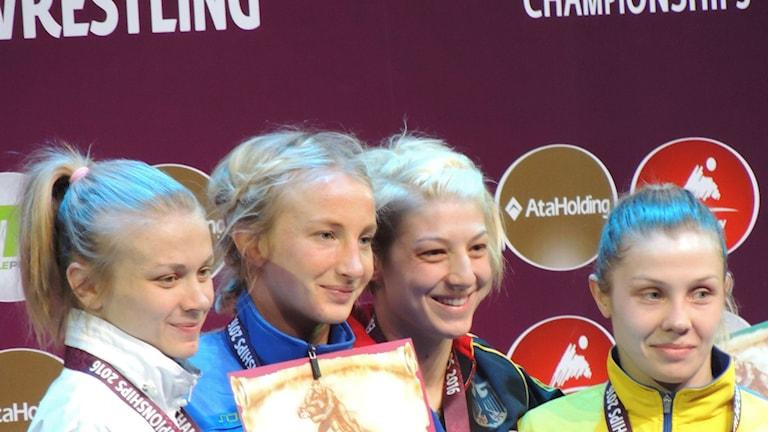 Sofia Mattsson vann EM-guld.