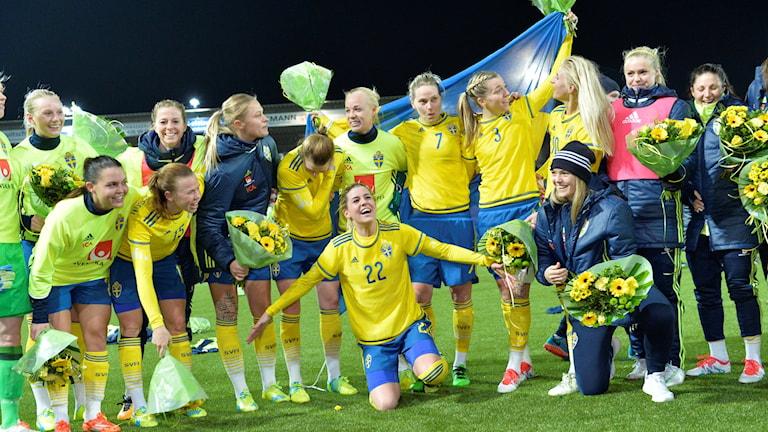 Jubel i Sverige efter OS-platsen.