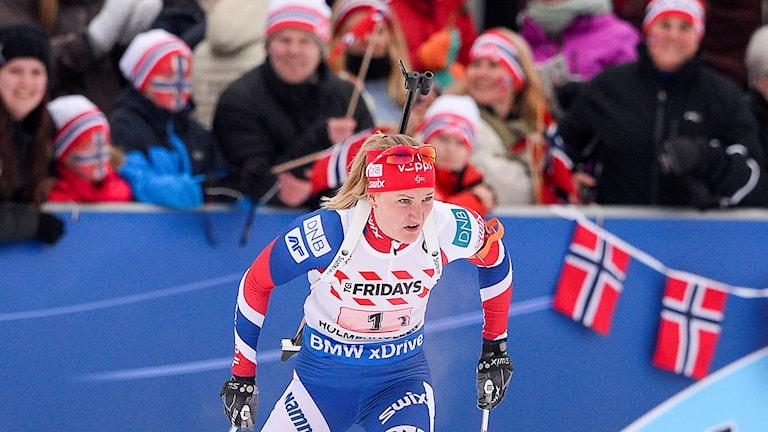 Norges Marte Olsbu.