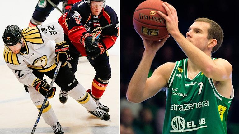 Djurgården-Brynäs och Södertäljes basketspelare Dino Pita.