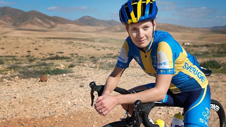 Cyklisten Emma Johansson är tillbaka på Radiosportens OS-medaljbarometer.