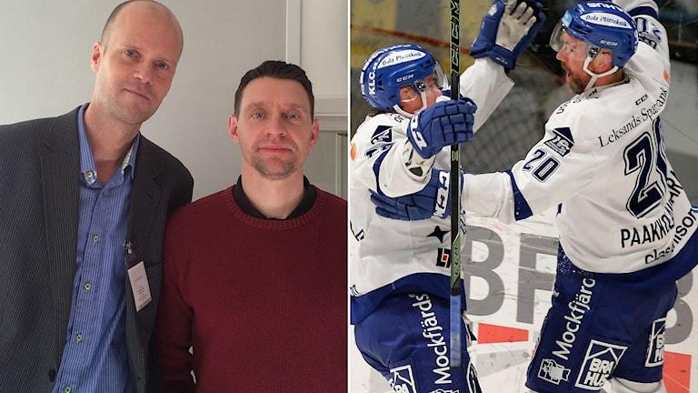 Mattias Ek och Kristofer Ottosson samt Leksand