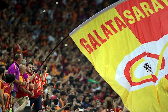 Galatasarays fans. Foto: STR