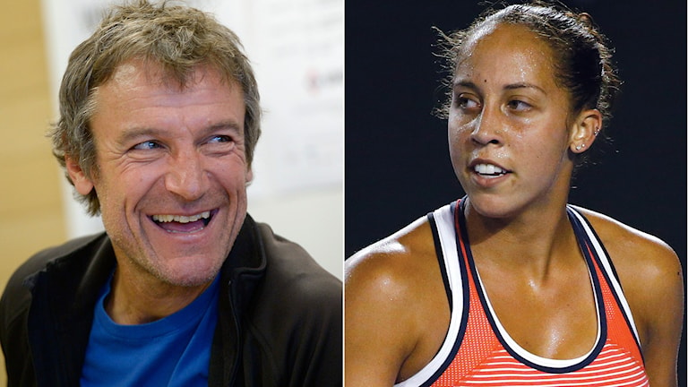Mats Wilander och Madison Keys