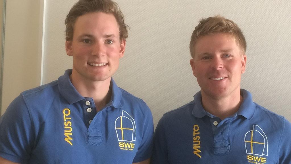 Carl Sylvan och Marcus Anjemark.