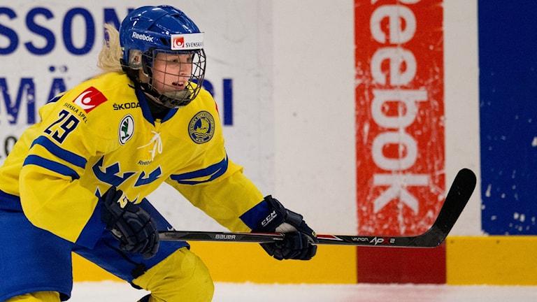 Damkronornas Olivia Carlsson.