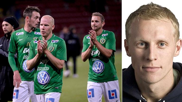 Jönköpings Södra och Richard Henriksson. Foto TT och SR