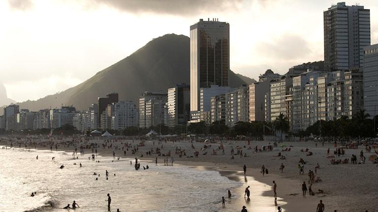 OS-staden Rio de Janeiro.