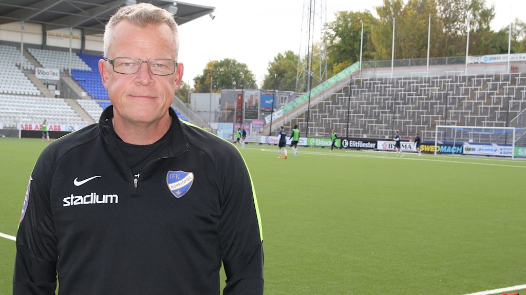 Norrköpings tränare Janne Andersson.