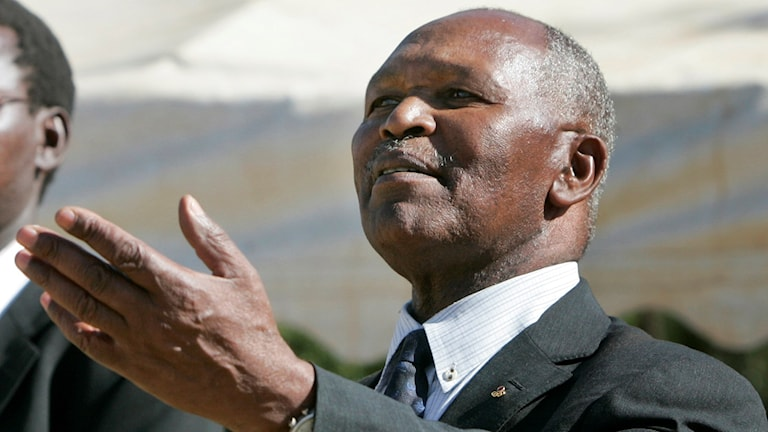 Kip Keino, ordförande för Kenyas olympiska kommitté.