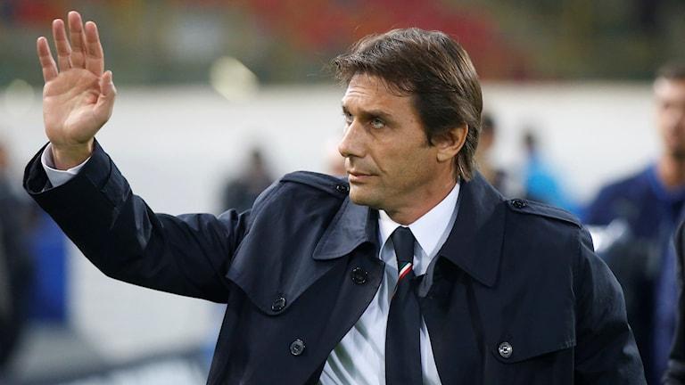 Antonio Conte blir ny tränare för Chelsea.