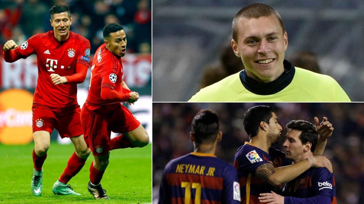 Collage inför tisdagens Champions League. Foto: TT