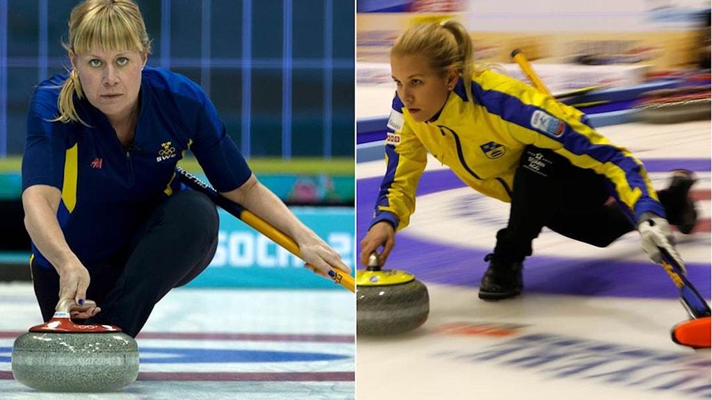 Maria Prytz (t.v.) lämnar och ersätts av Cissi Östlund.