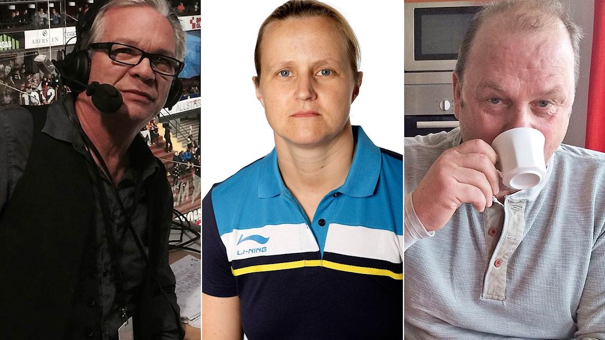 Christer Jonasson, Gunilla Andersson Stampes och Perra Johnsson.