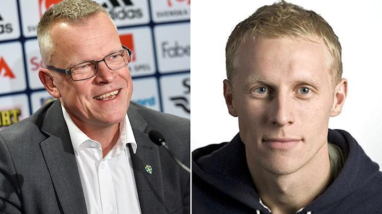 Janne Andersson (t.v.) och Richard Henriksson