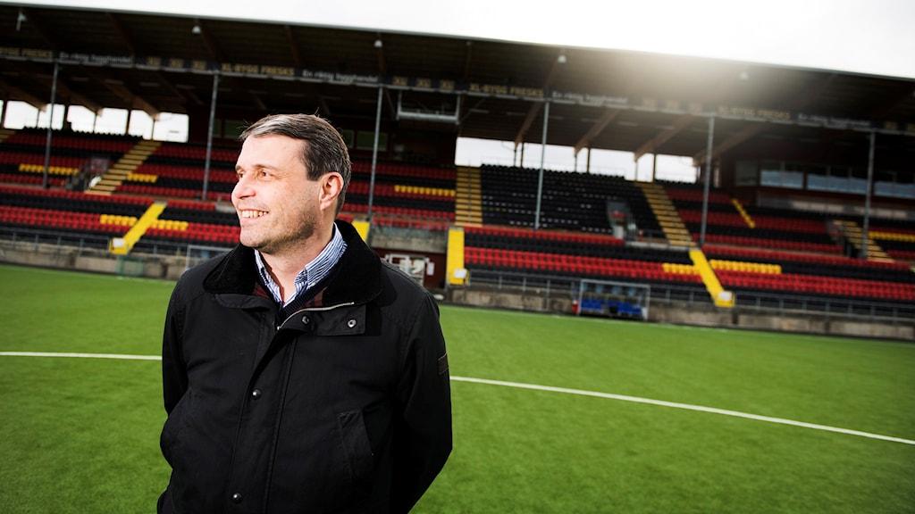 Östersunds ordförande Daniel Kindberg