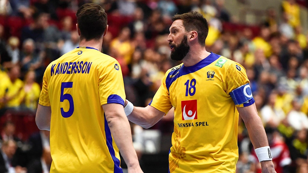 Kim Andersson och Tobias Karlsson mot Iran