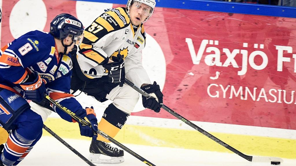 Växjö och Skellefteå möts i kväll i en sjätte semifinalmatch.