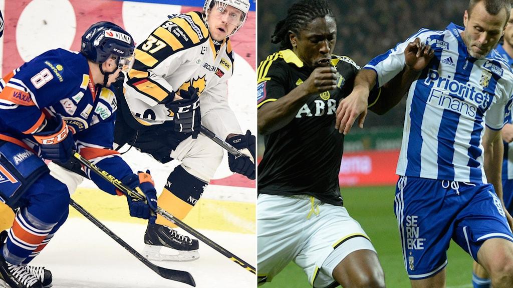 Växjö möter Skellefteå och AIK ställs mot IFK Göteborg i kväll.