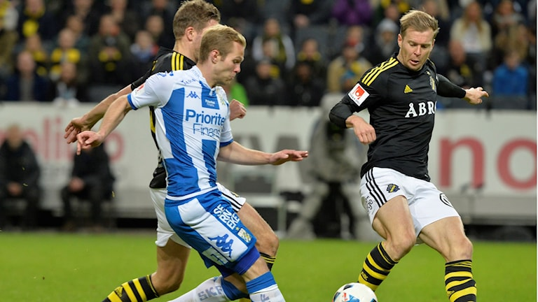 AIK-IFK Göteborg slutade 3-3.