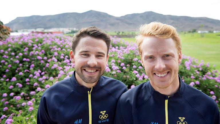 Anton Dahlberg och Fredrik Bergström.