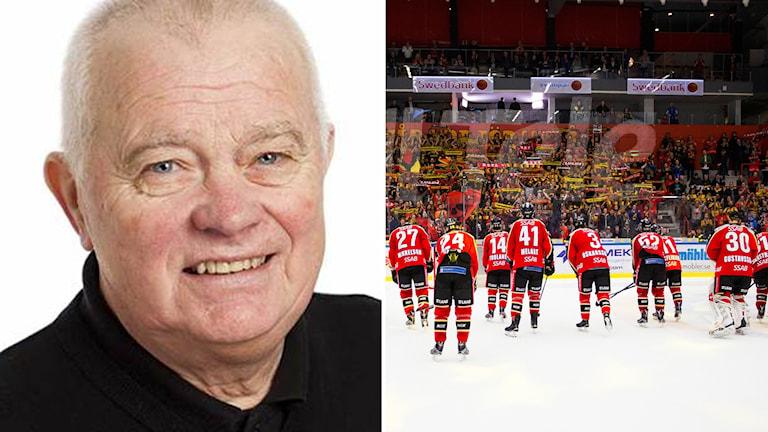 Radiosportens expert L-G Jansson.