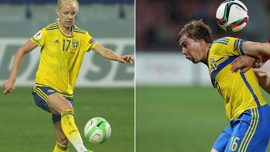 Vilka gruppmotståndare får Caroline Seger och Simon Tibbling i OS-turneringen i Rio?