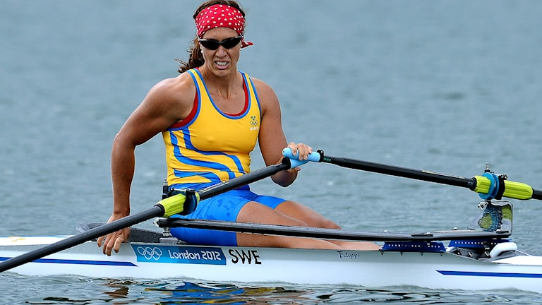 Arkivbild: Frida Svensson under OS i London.