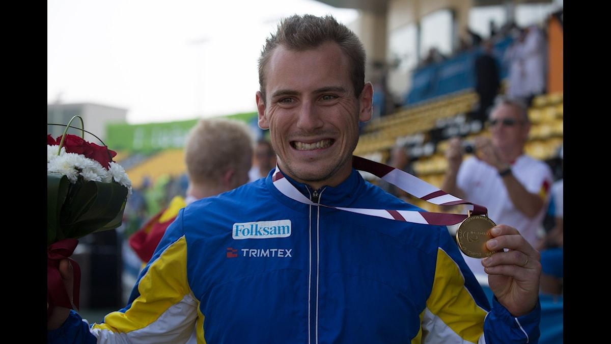 Parasportaren Per Jonsson.