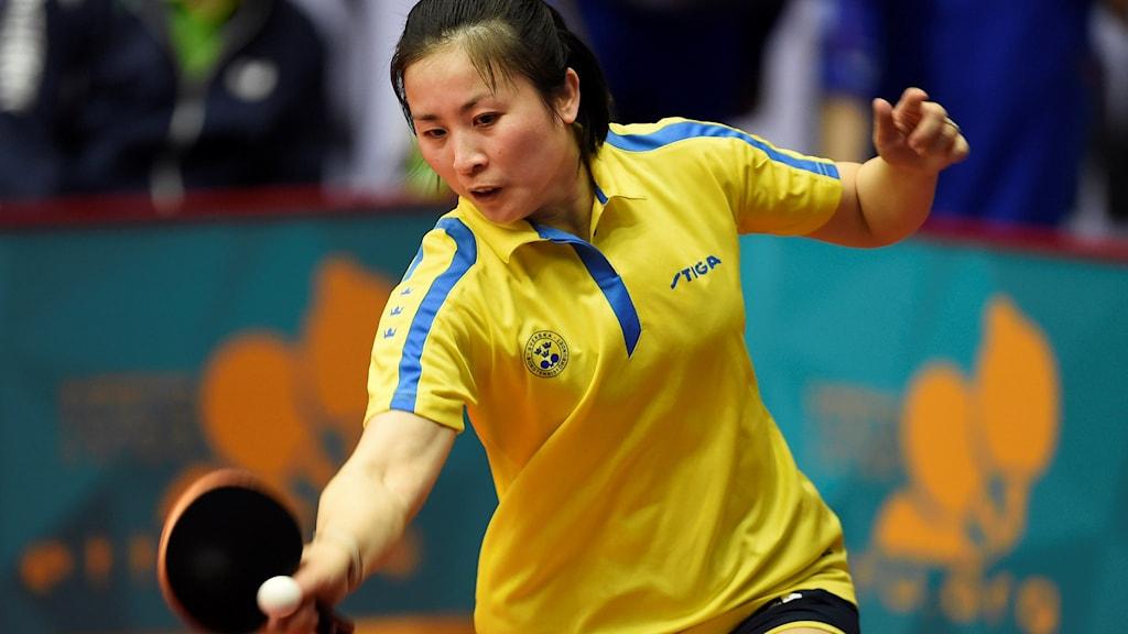 Li Fen är nära att säkra en OS-biljett.