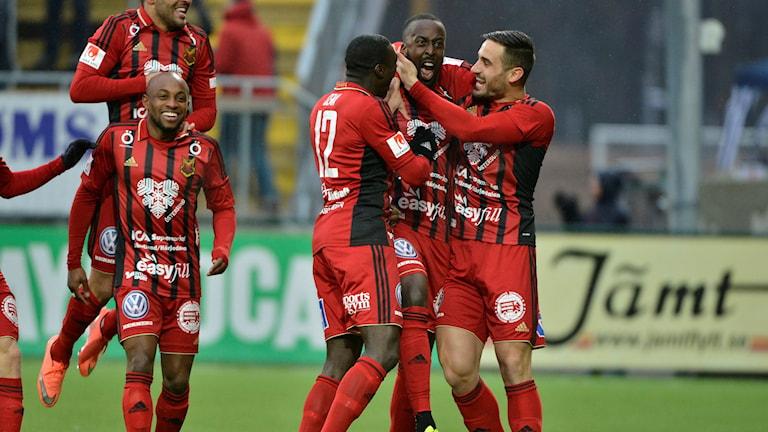 ÖFK besegrade Häcken med 2-1.