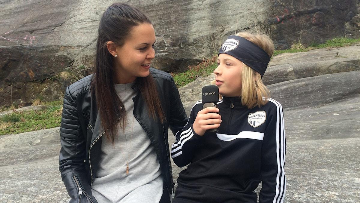 Emilia Appelqvist intervjuas av Dante Edlund.