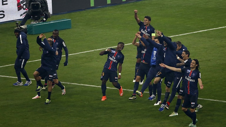 Paris Saint Germain vann ligacupen
