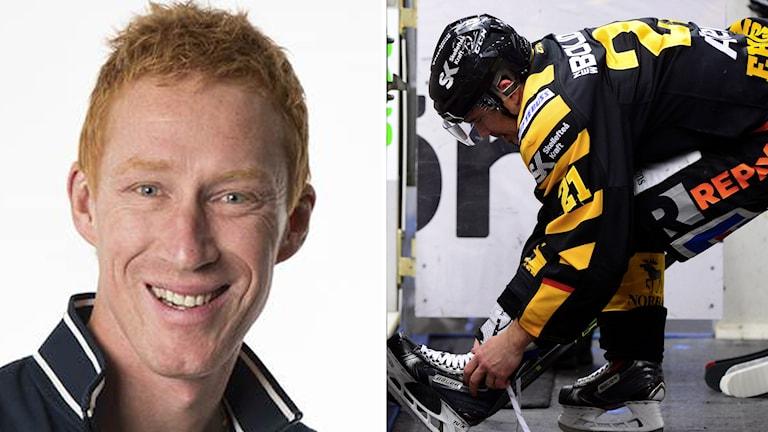 Jönsson kritiserar Ericsson. Foto: SR och TT
