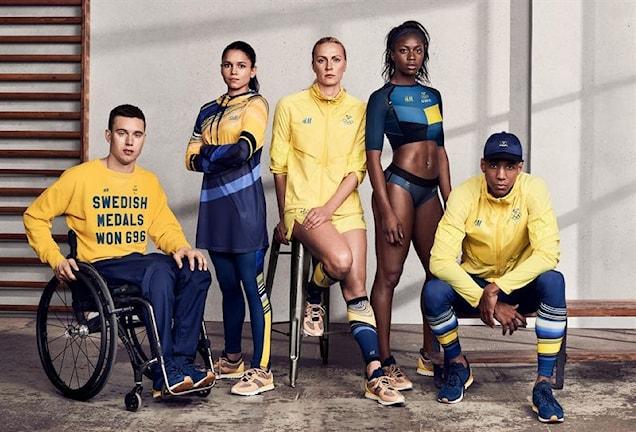 Svenska OS-kläderna. Foto: HM