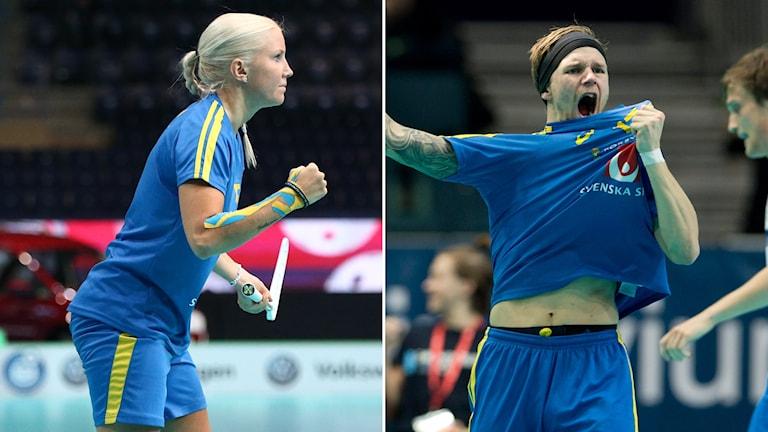 Anna Wijk och Rasmus Enström.