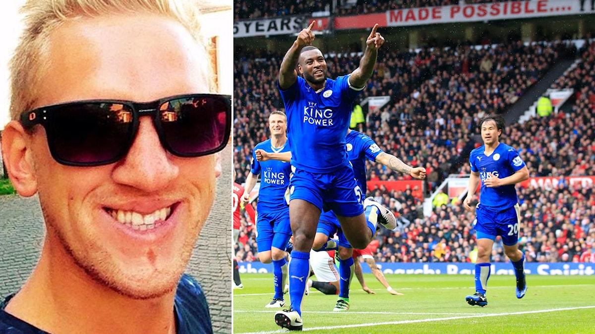 Adam Danielsson och Leicester.
